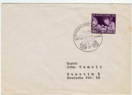 Allemagne / Journée Du Timbre 1942 / Marburg - Lettres & Documents