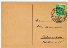 Allemagne / Journée Du Timbre 1938 /  Hamburg / Hambourg - Lettres & Documents