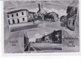 CARD PALAZZOLO DELLA STELLA  SALUTI DA....  VEDUTINE(UDINE)   -FG-V-2 --0882-22755 - Udine