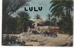 TUNISIE ; Marabout Dans L Oasis ( Oasis De Tozeur 2 Scans ) - Tunisie