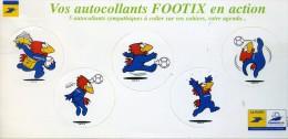 FRANCE Autocollant La Poste FOOTIX CUP 1998 Football Soccer Fussball - World Cup