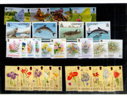 7285 Guernsey Großbritannien Great Britain Postfrisches Lot - Guernsey