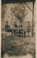 ASIE - LIBAN - BEYROUTH - Carte photo portrait militaires prise pr�s Saint Michel en 1927