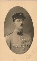 ASIE - LIBAN - BEYROUTH - Carte photo portrait militaire (N�33 sur uniforme )dat�e 1926 Photo. A SCAVO & Fils � BEYROUTH