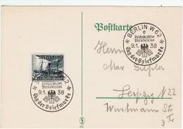Allemagne / Journée Du Timbre 1938 /  Berlin - Lettres & Documents