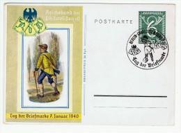 Allemagne / Journée Du Timbre 1940 / Berlin-Charlottenburg - Lettres & Documents