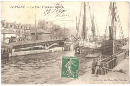 Dépt 56 - LORIENT - Le Pont Tournant Ouvert - Lorient