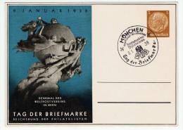 Allemagne / Journée Du Timbre 1938 / München / Munich - Lettres & Documents
