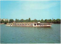 Ak Berlin, Dampfer MS Havelstern, Um 1980 (12g) - Paquebots