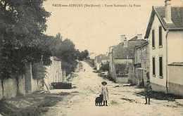 Nov14 1068: Vaux-sur-Aubigny  -  Route Nationale  -  Poste - France