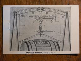 JOUE-les-TOURS (37) - Bascule Romaine MARLIN Ingénieur Et Constructeur (fût Viticulture)* - Francia