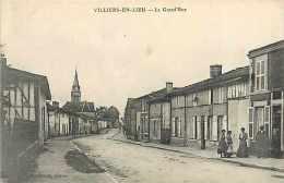 Nov14 1099: Villiers-en-Lieu  -  Grande Rue - France