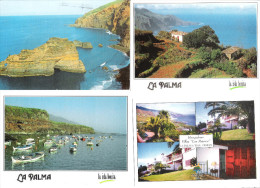 Spain - 4 Cards - Canarias - La Palma - La Palma