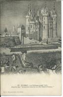 """Cp , 49 , SAUMUR , Le Château Avant 1426 D'après Les """"Exquises Heures Du Roi René D'Anjou"""" - Saumur"""