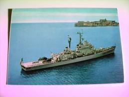 DUILLIO  INCROCIATORE LANCIAMISSILI     NAVE   SHIP   MARINA  MILITARE  WARSHIP  NON  VIAGGIATA COME DA FOTO - Krieg