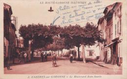 CAZERES SUR GARONNE LE BOULEVARD JEAN JAURES (DIL150) - Non Classés