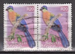 Zuid Afrika, South Africa Sud Africa Paar Pair Used ; Lorry, Lourie - Papegaaien, Parkieten