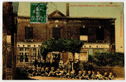 """"""" GLOS La FERRIERE - Mairie -  Ecole De Garçons  """"  TRES RARE - 1910 - L'Aigle"""