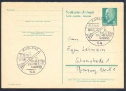Germany Deutschland 1962 Card: Space Weltraum; DRG Raketen Und Raumfahrt Tagung - FDC & Gedenkmarken