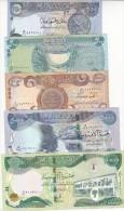 IRAQ 250 500 1000 5000 10000 DINARS 2013 2014 P-new DINAR HYBRID UNC SET */*