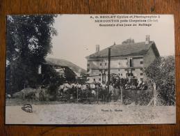 CHEPNIERS (17) - Souvenir D'un Jour De Battage - Heulet Cycles Et Photographie à Servonton* - Francia