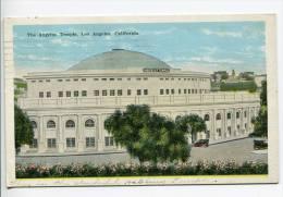 OE2/  1924 the Angelus Temple Los Angeles, publ. California postcard c., postmarked Burbank to Earl L. Vance La Cygne KS