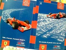FORMULE 1 - SCUDERIA FERRARI - TIM - TELEPHONIE MOBILE 2 CARD CITRUS 686-706  N2000  EQ13116 - Grand Prix / F1