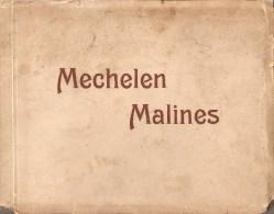 Mechelen Malines Mapje (14 X 18 Cm !!!) Met 21 Prenten Van Mechelen ZELDZAAM ( 22 Scans ) - Mechelen