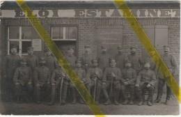 BELGIQUE FLANDRE LEDEGEM  CARTE PHOTO ALLEMANDE MILITARIA 1914/1918 - Ledegem
