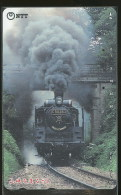 Locomotive A Vapeur  Télécarte Japon Steam Train Phonecard Japan - Trains