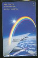 Aeroport Tokyo Narita Avion Avions Télécarte Japon New Tokyo Airport Airplane Airplanes Phonecard Japan - Avions