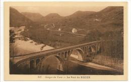 12 - Gorges Du Tarn - Le Pont Du ROZIER - N° 737 Sepia - France