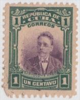 1910-36. CUBA. REPUBLICA. Ed.181. NO GUM. 1c. BARTOLOME MASO. CENTRO DESPLAZADO. DISPLACED CENTER. - Kuba