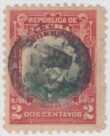 1910-45. CUBA. REPUBLICA. Ed.182. 2c. MAXIMO GOMEZ. MARCA POSTAL M FANCY. - Kuba