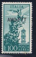 Italy,Trieste Zone A, Scott # C23 Mint Hinged Italy Airmail Stamp Overprinted, 1949 - 7. Trieste