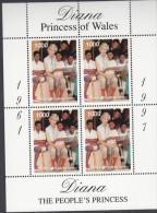BATUM, 1998 DIANA SHEETLET MNH - Stamps