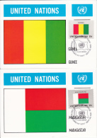 32 Cartes 10 X 15 / UNITED NATIONS - NATIONS UNIES - Timbres