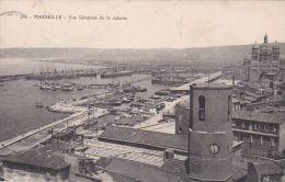 Cp , 13 , MARSEILLE , Vue Générale De La Joliette - Joliette, Zone Portuaire
