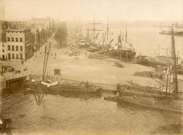 PAYS BAS    ROTTERDAM  Les Quais Et La Meuse - Anciennes (Av. 1900)