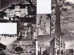 5 CART. PRINCIPAUETE DE MONACO - Cartes Postales