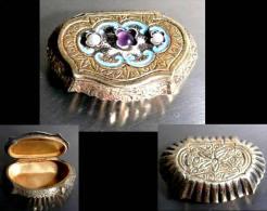 Ancienne Précieuse Boîte à Sniffer Magyar / Old Hungarian Precious Snuff Box - Boites à Tabac Vides