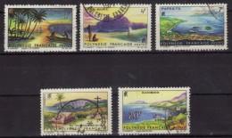 Polynésie Française - N° 30 à 34 Oblitérés - Paysages - Oblitérés