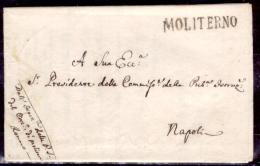 Moliterno-00478 - (Piego Con Testo Del 18 Aprile 1819) - Italia