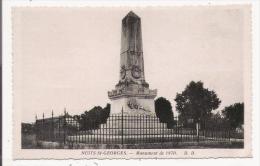 NUIT SAINT GEORGES MONUMENT DE 1870 - Monuments Aux Morts