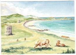 Postcard - L'Ancresse Martello Towers, Guernsey. C.V.25 - Guernsey