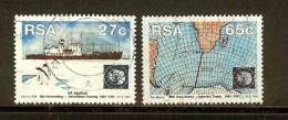 SOUTH AFRICA 1991 Used Stamp(s) Antarctic Treaty 829-830 - Polar Philately