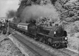 Warlingham Railway Station Class U 2-6-0 Lingfield Race Meeting - Railway