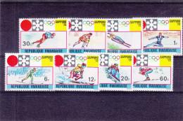 Jeux Olypiques - ski - hockey - luge - patinage - saut - Rwanda - COB 443 / 50 ** - MNH