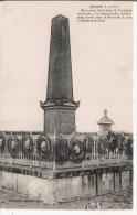 JOSNES (L ET CH) MONUMENT ELEVE DANS LE CIMETIERE DE JOSNES A LA MEMOIRE DES COMBATTANTS MORTS POUR LA PATRIE 1870 - Monuments Aux Morts
