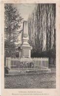 VOUILLE LA BATAILLE (VIENNE) 715  MONUMENT COMMEMORATIF DES COMBATTANTS DE 1870.71 - Monuments Aux Morts
